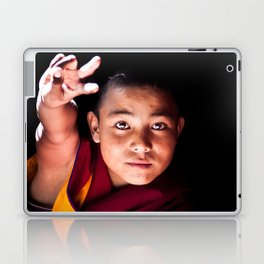Young Buddhist Monk Laptop & iPad Skin
