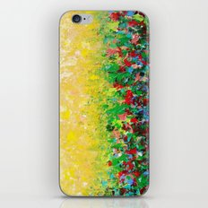 NATURE'S LIVING ROOM - Gorgeous Bright Bold Nature Wildflower Field Landscape Abstract Art New 2012 iPhone & iPod Skin