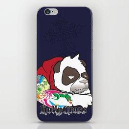 Cranky Panda iPhone Skin