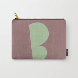 Hand-Lettered B Art Print Carry-All Pouch
