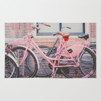 bike Area & Throw Rugs featuring Bike by Hello Twiggs
