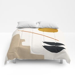 abstract minimal 6 Comforters