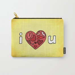 i heart u Carry-All Pouch
