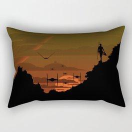 Twilight Of Darkness GREEN Rectangular Pillow