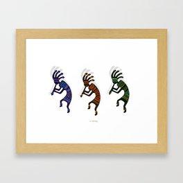 HOPI DANCERS Framed Art Print