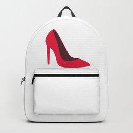 Pink High Heels Backpack