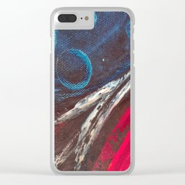 Art.For the people by Ildiko Csegoldi Clear iPhone Case