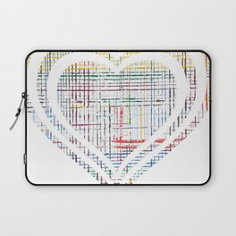 The System - heart Laptop Sleeve