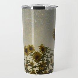 Sunflower Cosmos Travel Mug
