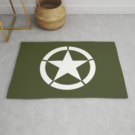US Army Star Rug