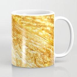 Gold Rush Marble Pattern Coffee Mug