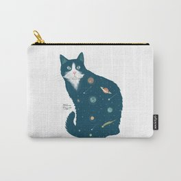 Cosmic Cat illustration Carry-All Pouch