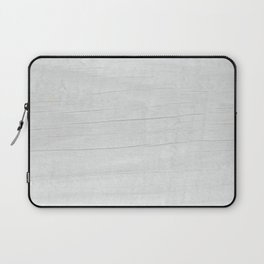 Gray Weathered Wood Laptop Sleeve