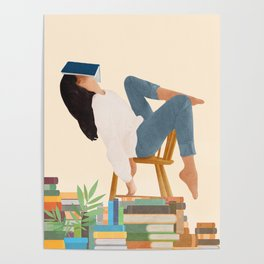 Lost in my books Poster