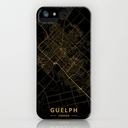 Guelph, Canada - Gold iPhone Case