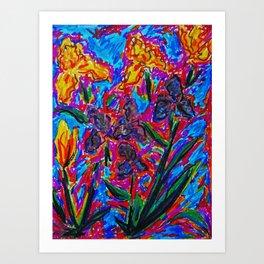 The Iris Art Print