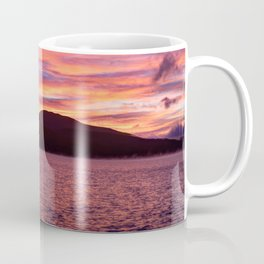 Fall Sunrise over Kennebago Lake Coffee Mug
