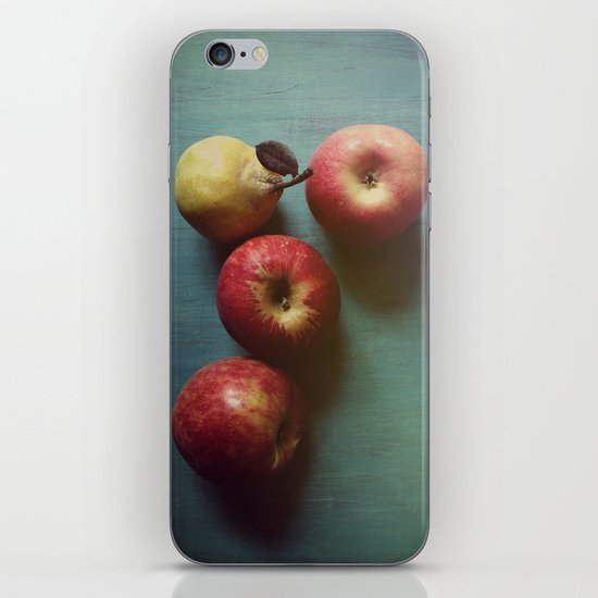 Autumn Apples iPhone & iPod Skin