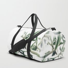 Jade - money plant - succulent in bright light Duffle Bag