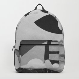 What is Art? (Black and White) Backpack