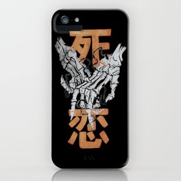 Death Love iPhone Case