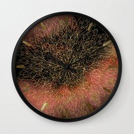 Dusk Mandala Wall Clock