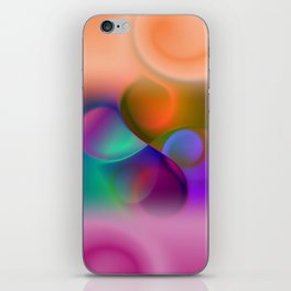 window curtain - colors for your home -3- iPhone Skin