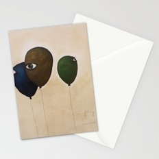 fly high wide eyes Stationery Cards