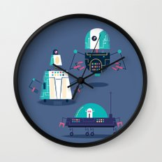 :::Mini Robot-Nanoi::: Wall Clock