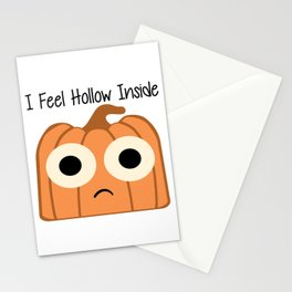 I Feel Hollow Inside Stationery Cards