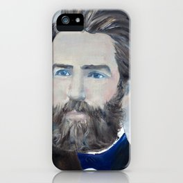 HERMAN MELVILLE - oil portrait iPhone Case