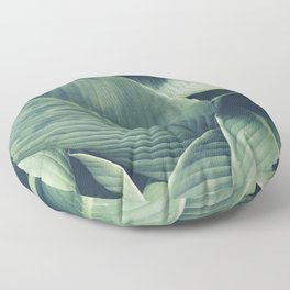 NATURE - GREEN - LEAVES - VEGETATION Floor Pillow