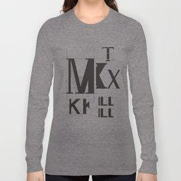 Alphabet Project Long Sleeve T-shirt