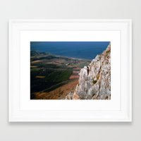 israel Framed Art Prints featuring Israel by Loved and Lost