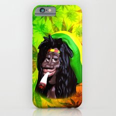 Rastaman Marijuana Caricature 3d Slim Case iPhone 6s