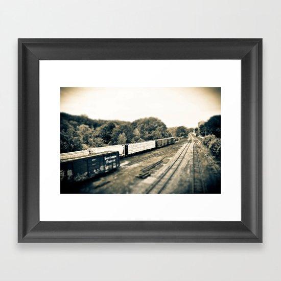 The Train Gang Framed Art Print