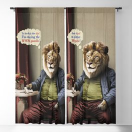 Hungry Lion Blackout Curtain