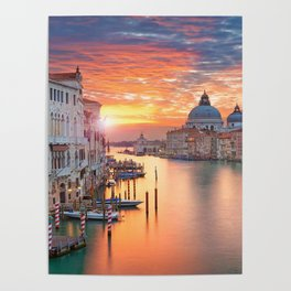 VENICE AT SUNRISE Poster