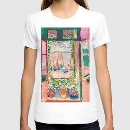 Open Window - Henri Matisse T-shirt