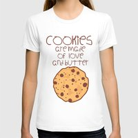 cookies T-shirts featuring Cookies by Mim sh.
