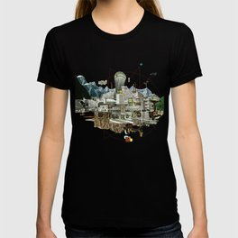 Collage City Mix 7 T-shirt