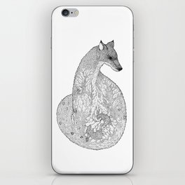 Winter Fox iPhone Skin
