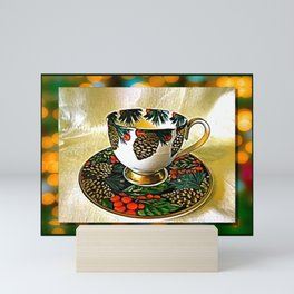 The Tea Cup Gift Of Friendship Mini Art Print