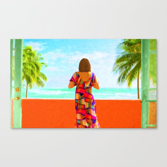 Shall I Compare Thee To A Summer's Day? Canvas Print