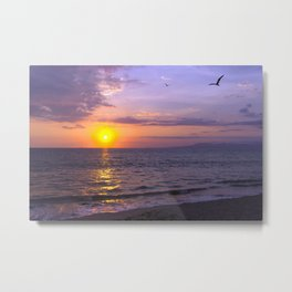 Vallarta Sunset Metal Print