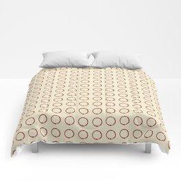 ink circle Comforters
