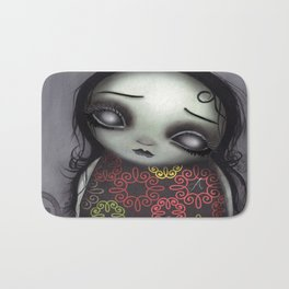 Zombie Girl Bath Mat