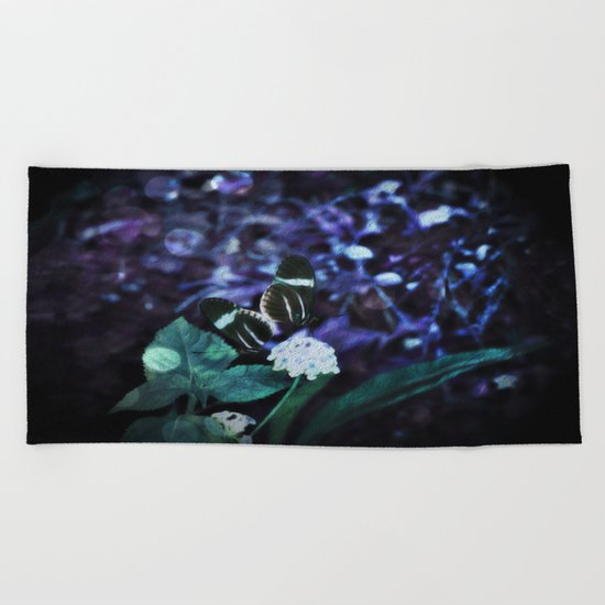 Butterfly Duel at Dusk Beach Towel