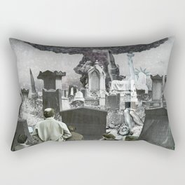 the truth is dead · welcome to the past Rectangular Pillow