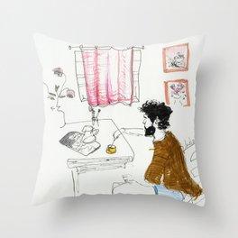 christopher robin Throw Pillow